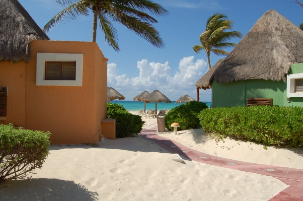 Mahekal Beach Resort, Playa del Carmen, Mexico