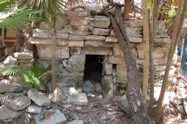 Hidden Mayan Ruin, Playa del Carmen, Mexico