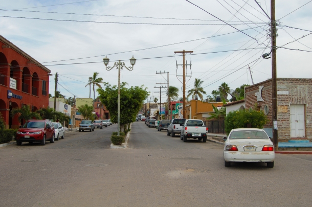 Main Street of Todos Santos