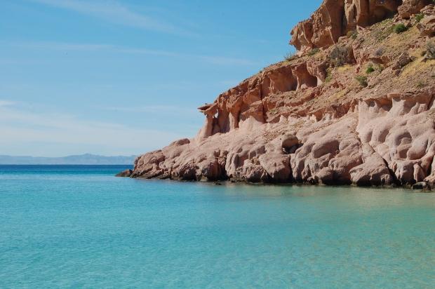 Isla Espiritu Santo western coastline, La Paz, Baja Sur