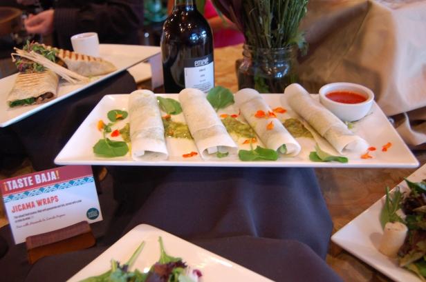 Jicama Wraps, Whole Foods Market, 7th Avenue Pub