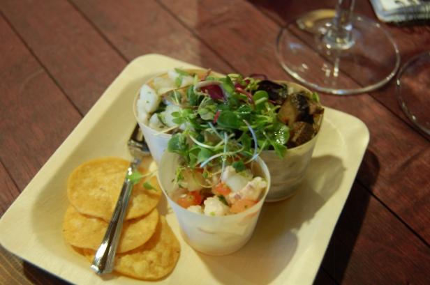 Trio of Ceviche, Whole Foods Market, 7th Avenue Pub