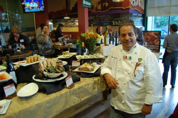 Chef Martin San Roman, Urban Baja Menu