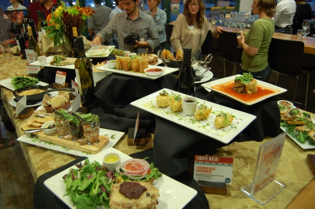 A selection of dishes from Chef Roman's Urban Baja Menu.