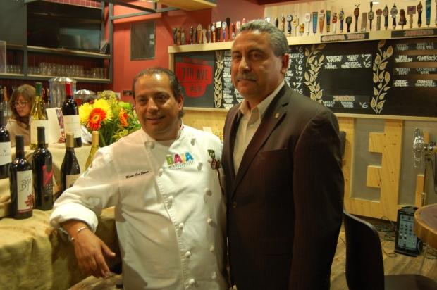 Chef Martin San Roman & Baja Secretary of Tourism Tintos Funcke