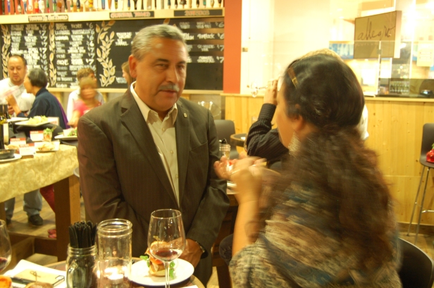 Secretary of Baja Tourism, Juan Benjamin Tintos Funcke