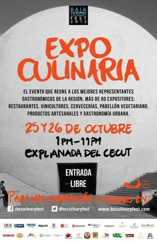 2013 BC Culinary Fest, Tijuana, Baja California, Mexico