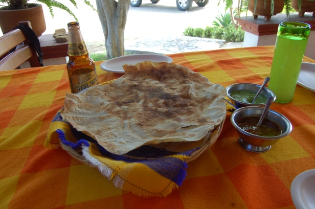 Restaurant and Galeria Tierra Antigua, Teotitlan del Valle, Oaxaca, Mexico
