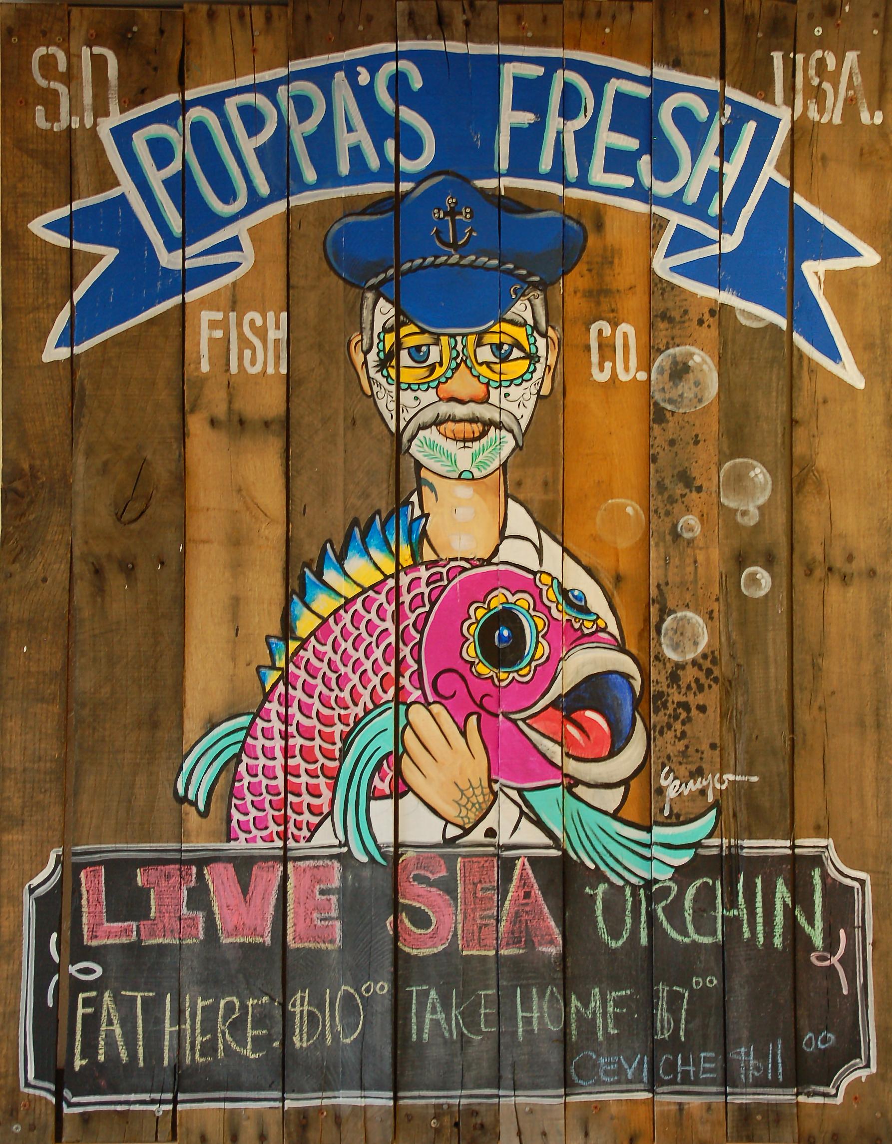 Poppa s fresh fish company mariscos north of the border for The fresh fish company