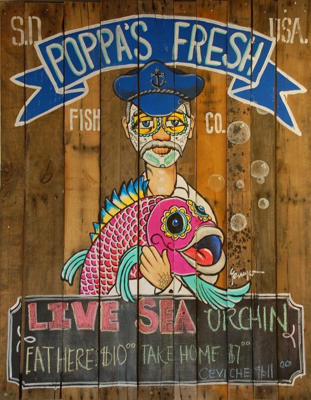 Poppa's Fresh Fish Company, National City, San Diego, California, USA