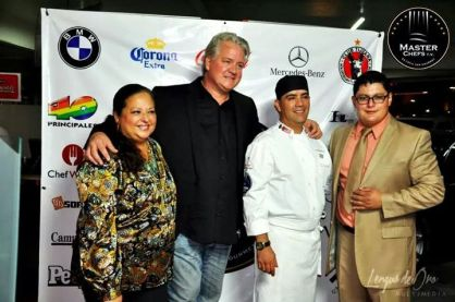 Erick Saenz and Arni Zaragoza of Master Chef TV.