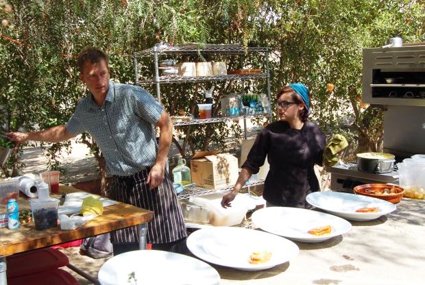 Chef Ryan Steyn, El Jardin de Adobe, Adobe Guadalupe, Valle de Guadalupe, Baja California, Mexico