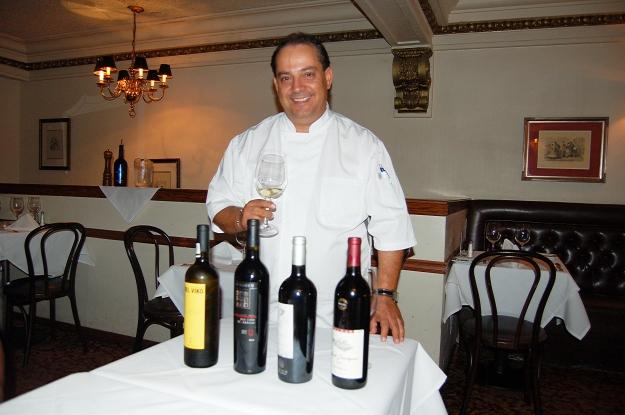 Chef Martin San Roman, Dobson's Bar & Restaurant, San Diego, California