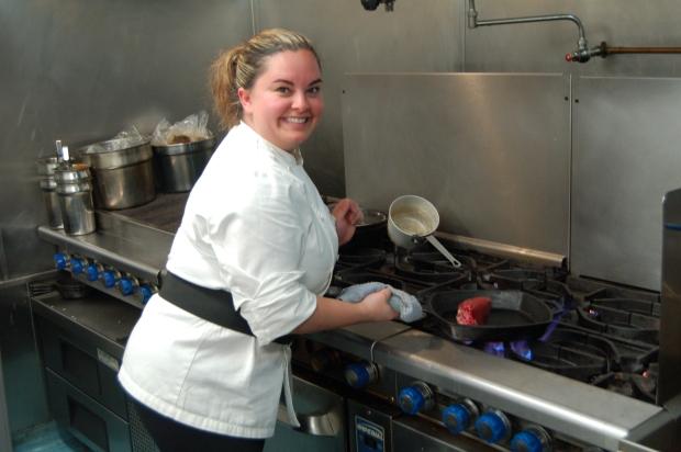 Chef Melissa Magallon, Allure Restaurant, San Diego, California
