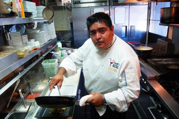 Mario Medina, Finch's Bistro & Wine Bar, La Jolla, California