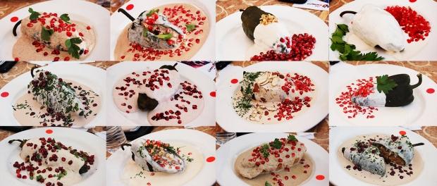 6th Annual Festival del Chile en Nogada, Cien Años Restaurant, Tijuana, Baja California, Mexico