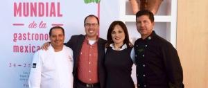 Foro Mundial Gastronomia de la Mexicana, Mexico City, Mexico, Martin San Roman, Miguel Angel Guerrero