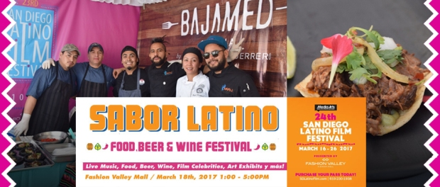 Sabor Latino, Latino Film Festival, Fashion Valley, San Diego, California